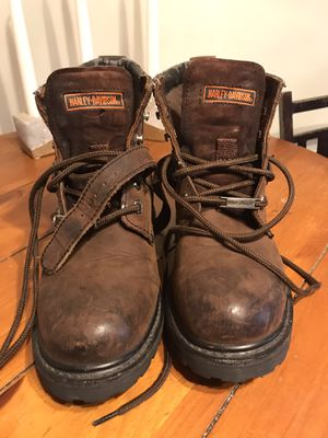 Vintage Harley Davidson Boots for Sale in Burlington, NJ