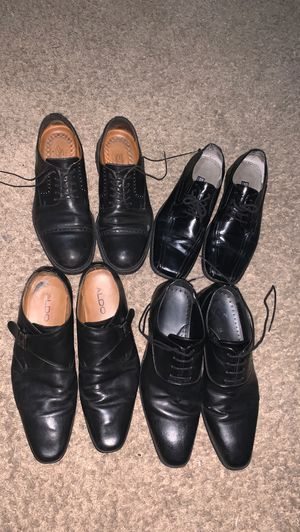 4 PAIRS OF DESIGNER MEN LEATHER DRESS SHOES!! ⭐️ALL HIGH QUALITY BRANDS AND IN OVERALL AMAZING CONDITION!!⭐️🙌 for Sale in Las Vegas, NV
