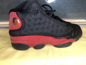 Black and Red Jordan 13s for Sale in Houston, TX