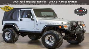 2005 Jeep Wrangler for Sale in Dallas, TX