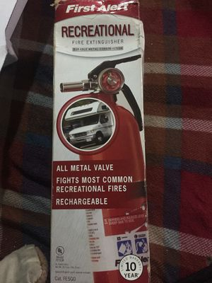 Rechargeable Fire Extinguisher for Sale in New York, NY