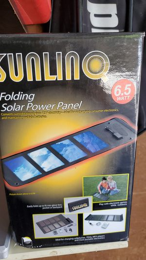 sunlinq folding solar power panel for Sale in Los Angeles, CA