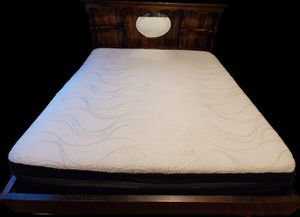 King size bed frame for Sale in Oklahoma City, OK