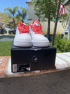 Air Force 1 'Supreme' size 9 for Sale in Fontana, CA