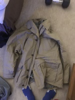 Burberry button up jacket for Sale in Portland, OR