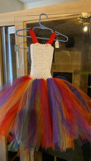 Rainbow tutu dress Halloween costume dress for Sale in Las Vegas, NV