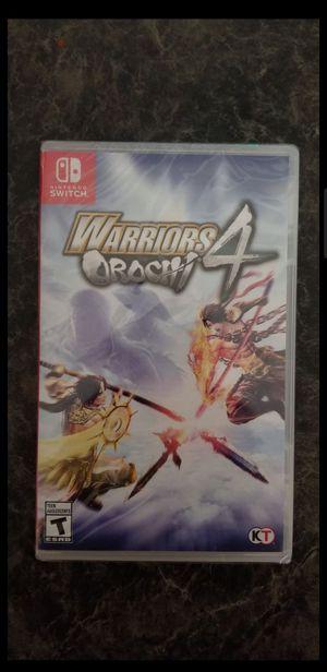 Warriors Orochi 4 Nintendo Switch BRAND NEW for Sale in Phoenix, AZ