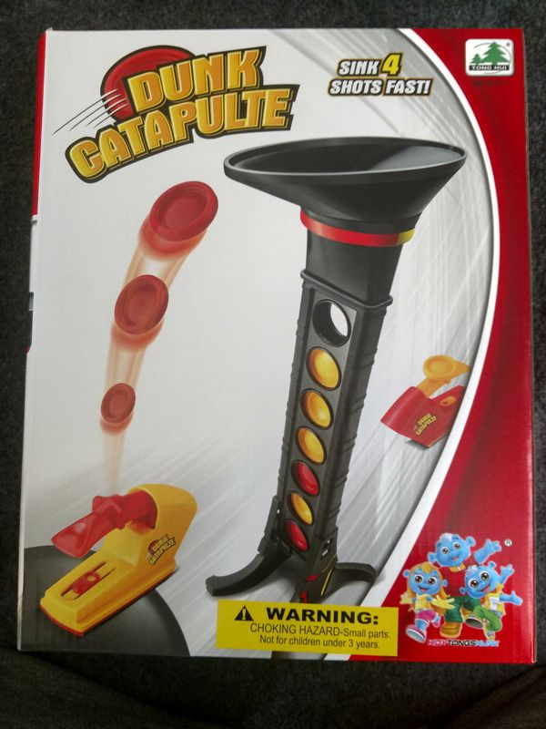 Dunk catapulte kids game. Only 3 left