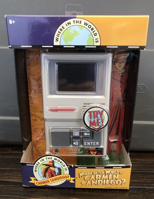 $17 Brand Sealed Where In The World Is Carmen Sandiego Handheld Game for Sale in Las Vegas, NV