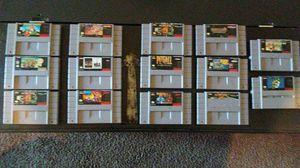 14 Super Nintendo Games for Sale in Jurupa Valley, CA