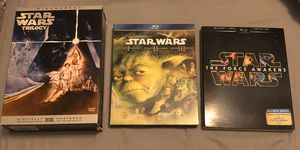 Star Wars movies - as set or individually for Sale in San Diego, CA