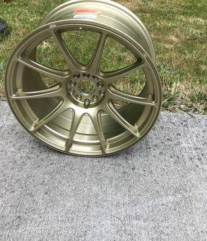 18x9.75 gold rim for Sale in Graham, WA