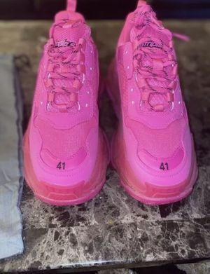 neon pink balenciaga sneakers for Sale in Corona, CA