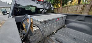 60 Gallon diesel transfer tank and tool box for Sale in Vancouver, WA