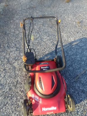 Lawn mower 3 in 1 Homelite model large 22 in commercial grade excellent new condition reliable and ready for immediate use del poss. for Sale in Philadelphia, PA