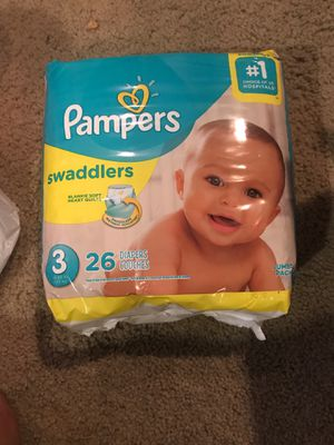 Pampers deadlier size 3 diapers for Sale in Springfield, VA