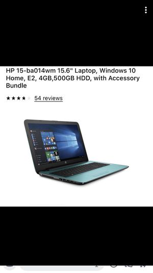 Hp laptop for Sale in Newton, MA
