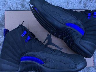 """Jordan 12 Retro """"Black Dark Concord"""" 2020 Size:8M for Sale in Guadalupe,  CA"""