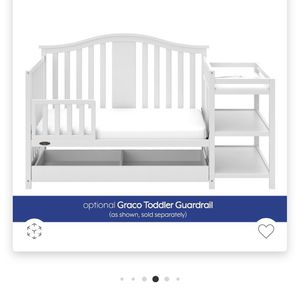 NEW UNOPENED: Graco Solano 4-in-1 Convertible Crib & Changer w/Drawer AND Sealy Cozy Crib Mattress for Sale in Simi Valley, CA