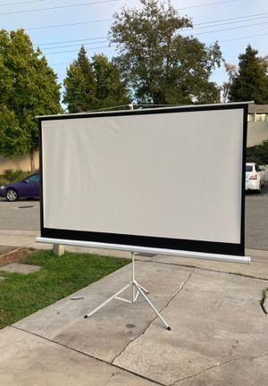 Movie projector screen for Sale in Watsonville, CA