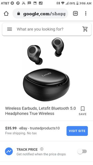 Letsfit wireless earbuds & case for Sale in Lakewood, CO
