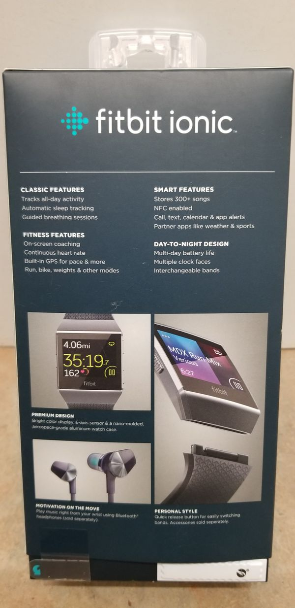 Fitbit ionic new