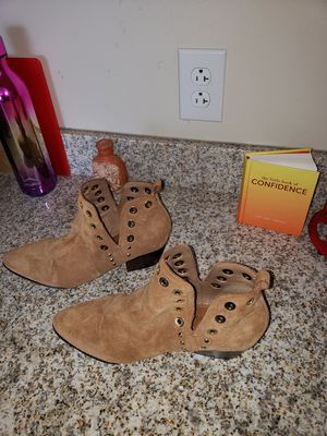Women's ankle suede boot size 10 for Sale in Pittsburgh, PA