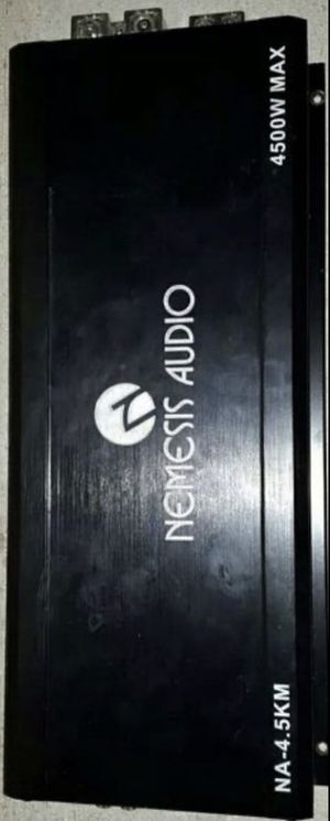 Nemesis Audio 4500 W 1-CH / Monoblock Car Stereo Amplifier for Sale in Mesquite, TX