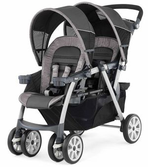 "CHICCO CORTINA DOUBLE STROLLER""GREAT CONDITION"" FREE DELIVERY for Sale in New Berlin, WI"