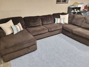 Excellent large sectional couch Ashley furniture for Sale in Renton, WA