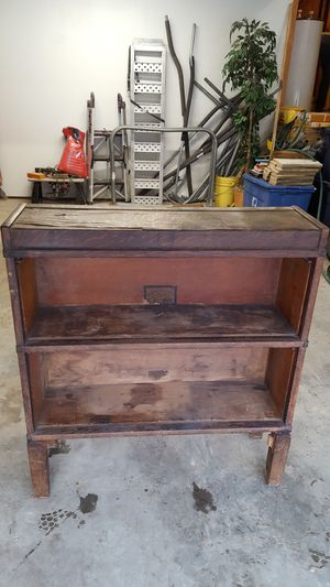 Antique display case/book shelf for Sale in Buckhannon, WV