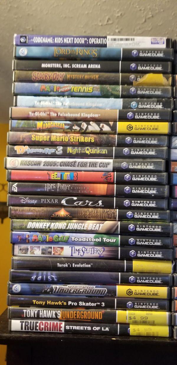 Massive gamecube Collection