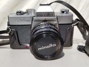Minolta SRT200 - 35mm Film - SLR Camera with 50mm for Sale in Brooklyn, NY