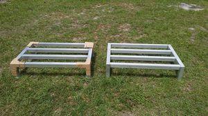 INDUSTRIAL/ STACKING/ SHELVING/ METAL STAINLESS STEEL ALUMINIUM RACKS for Sale in Apopka, FL