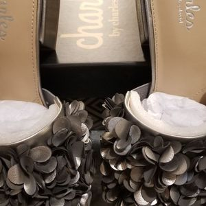 Charles by Charles David Victorious Floral Mules for Sale in East Hartford, CT