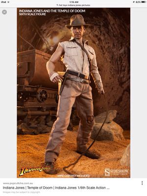 Indiana jones temple of doom HOT TOYS for Sale in Malden, MA