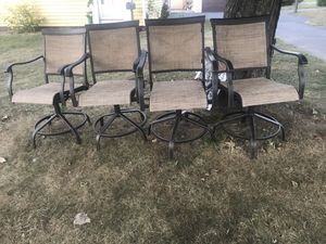 4 patio chairs for Sale in Bristol, CT
