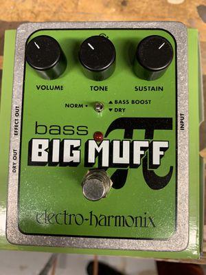 Bass Big Muff- Like New for Sale in Huntington Beach, CA