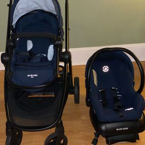 Maxicosi Stroller And Car seat + Base for Sale in Philadelphia, PA