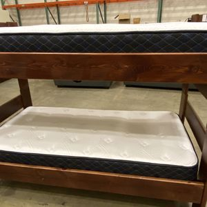 Twin Size Bunk Beds With Mattress for Sale in Chandler, AZ