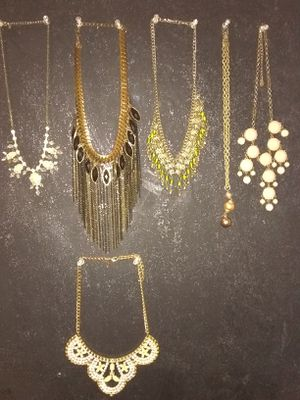 Beautiful necklaces for Sale in San Antonio, TX