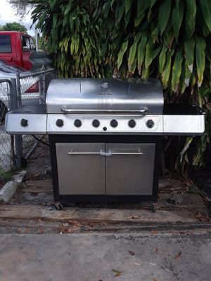 Stainless steel 7 burners BBQ Grill for Sale in Miami, FL