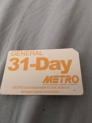 31 day bus pass for Sale in Cuyahoga Falls, OH