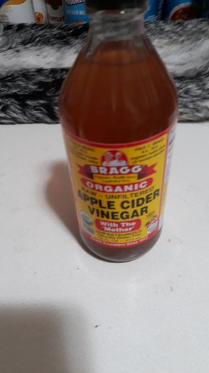 16Fl oz. Bragg organic apple cider vinegar non gmo Kosher 20$ OBO for Sale in Helena, MT