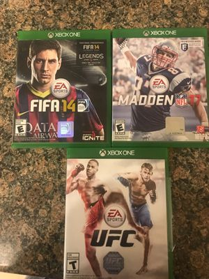 XBOX sports games for Sale in Anchorage, AK