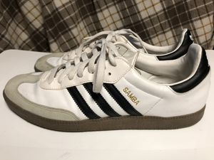 Adidas Samba Black and White Shoes for Sale in Forest Heights, MD
