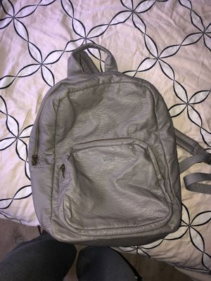 vans grey backpack for Sale in Huntington Beach, CA
