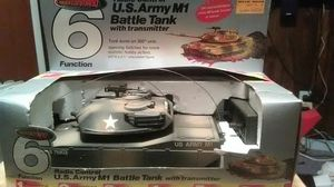 Radio controlled us army tank m1 battle tank vintage 1982 for Sale in District Heights, MD