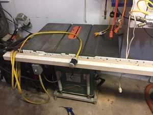Grizzly cabinet saw for Sale for sale  Glen Gardner, NJ