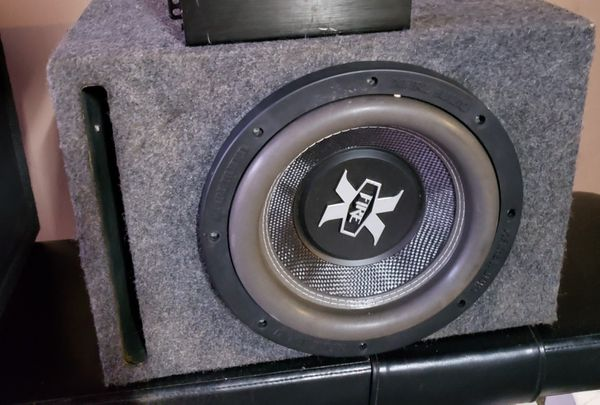 10' XFire 700w RMS ported box